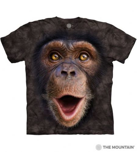 Happy Chimp T-shirt | The Mountain®